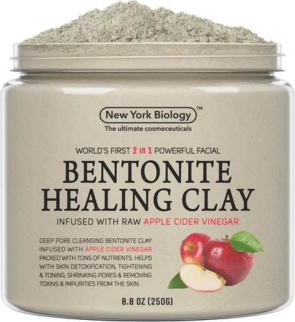 New York Biology Bentonite Clay Mask Infused With ACV