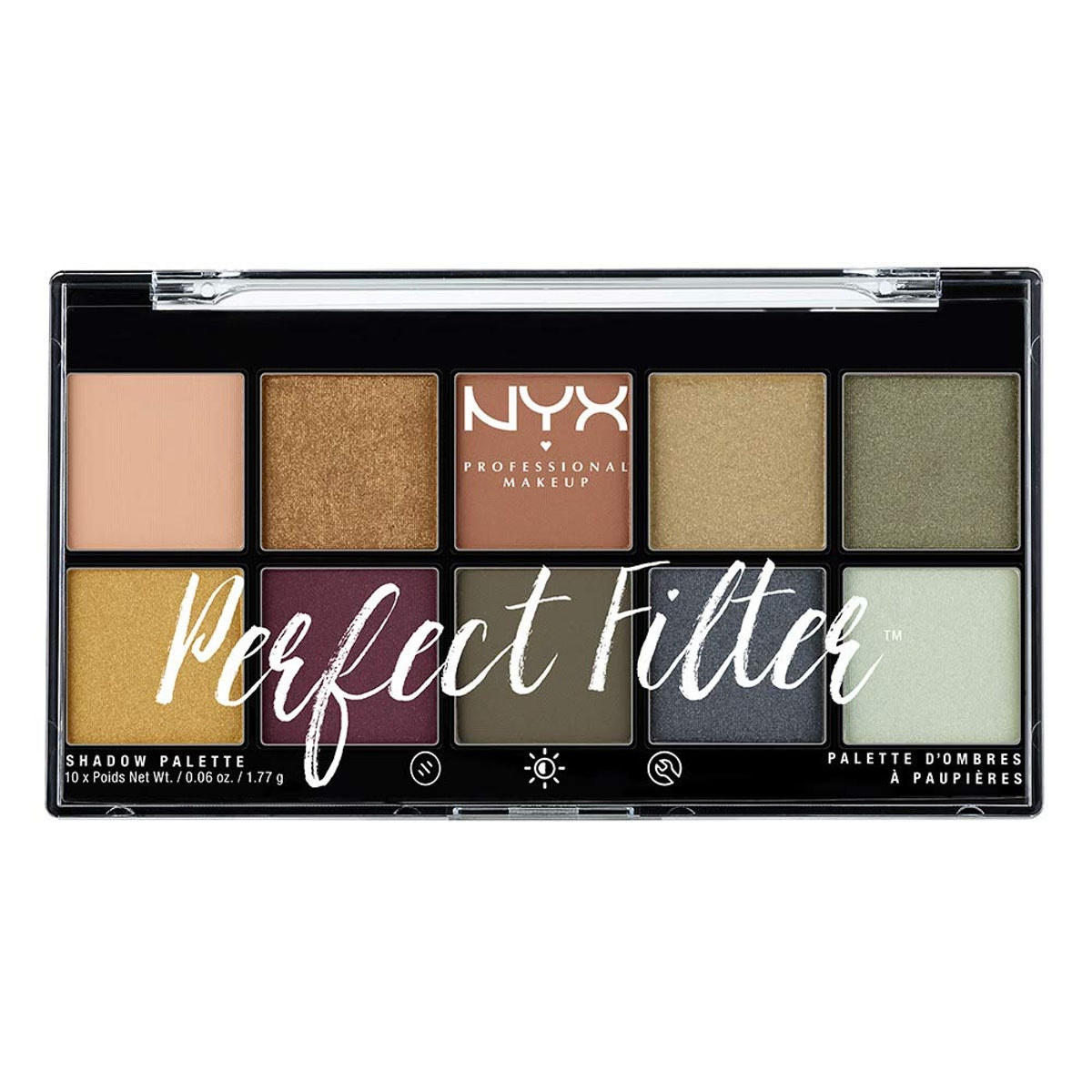 NYX Perfect Filter Shadow Palette in Olive You