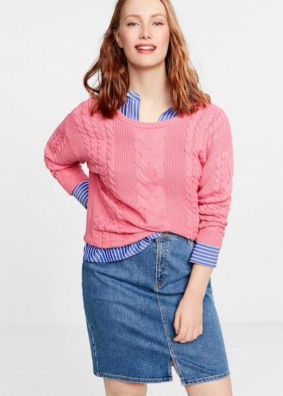 Medium Denim Skirt