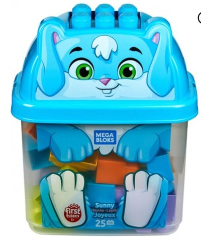 Mega Bloks First Builders Bunny Bucket