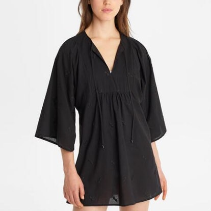 Embroidered Swim Cover Up