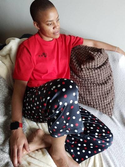 Owner Crop Style Pyjama Bottoms & T-Shirt Set