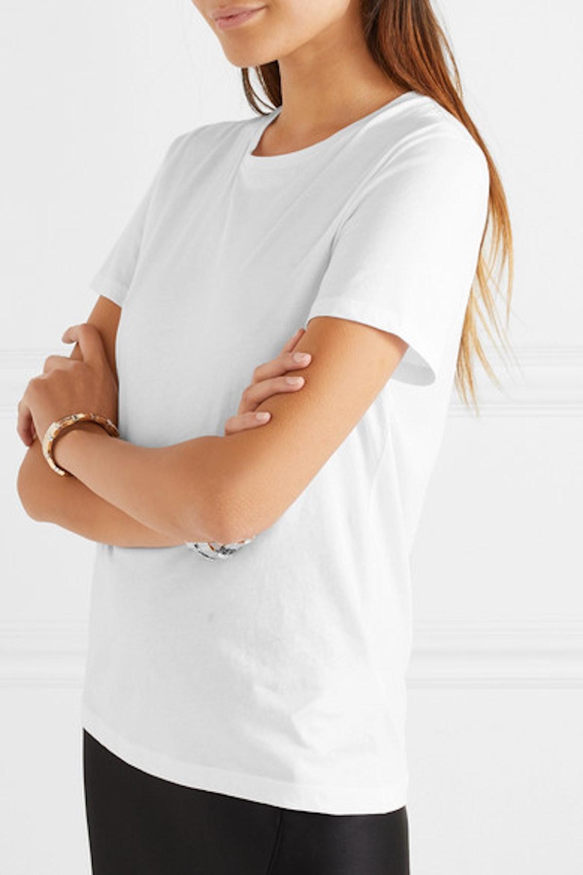 Jenna Organic Cotton-Jersey T-shirt