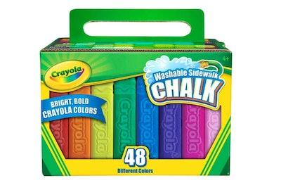Crayola 48ct Washable Sidewalk Chalk