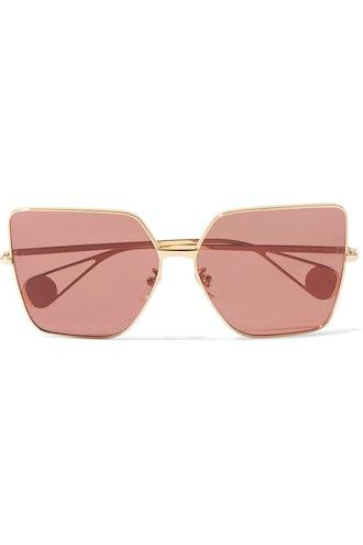 Gold-Tone Sunglasses