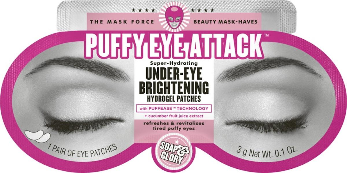 Soap & Glory Puffy Eye Attack Super-Hydrating Under-Eye Brightening Hydrogel Patches