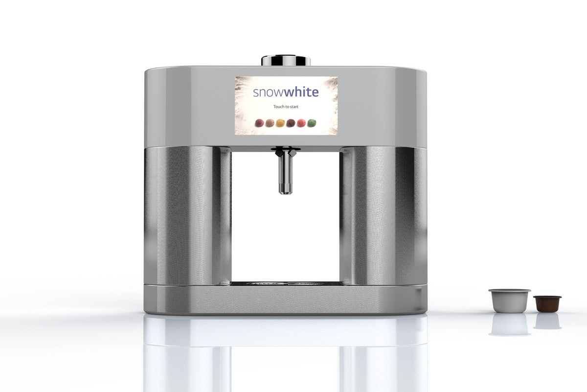 LG's SnowWhite Ice Cream Maker Prototype Is A Keurig-Inspired Approach To Dessert