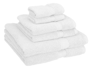 Superior 6-Piece Cotton Towel Set