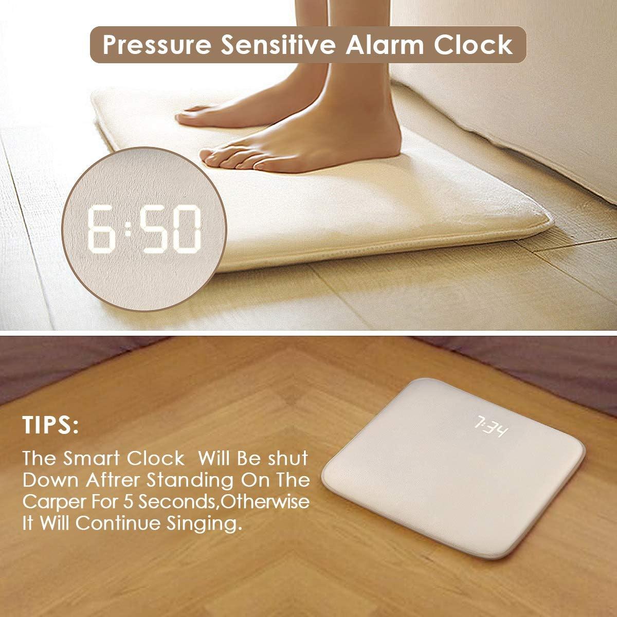 instecho Rug Alarm Clock