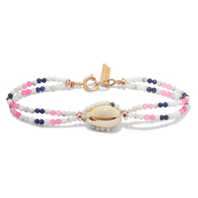 Bead and Shell Bracelet