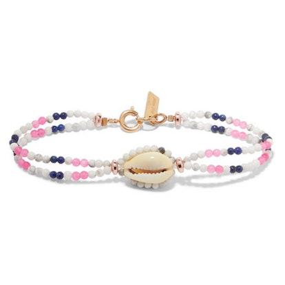 Bead and Shell Bracelet