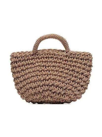 Rose Basket Bag
