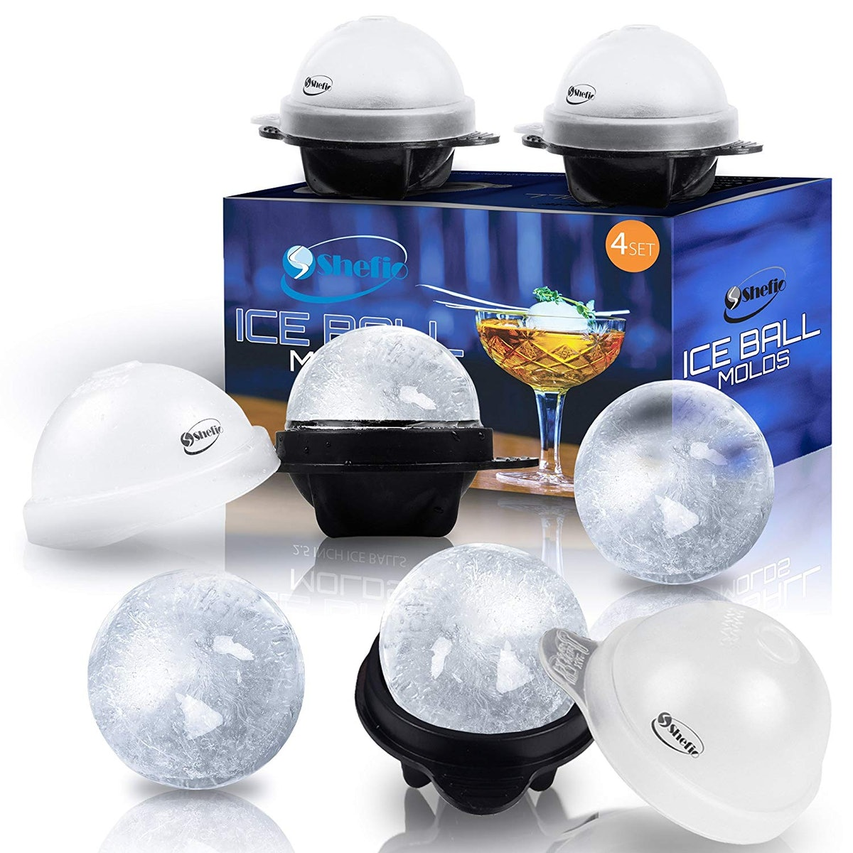 Shefio Ice Ball Molds