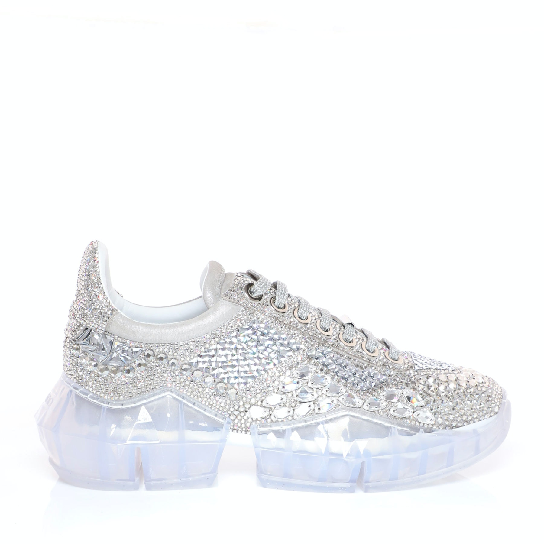 Jimmy Choo's Diamond Sneakers Are The