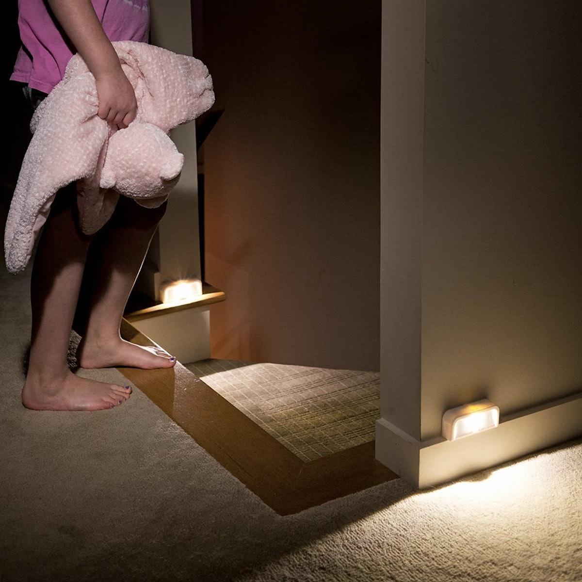 Mr. Beams Wireless Motion Sensing Mini Stick-Anywhere LED Nightlights