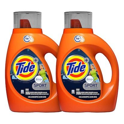 Tide Plus Febreze Sport Active Fresh HE Turbo Clean Laundry Detergent (2-Pack)