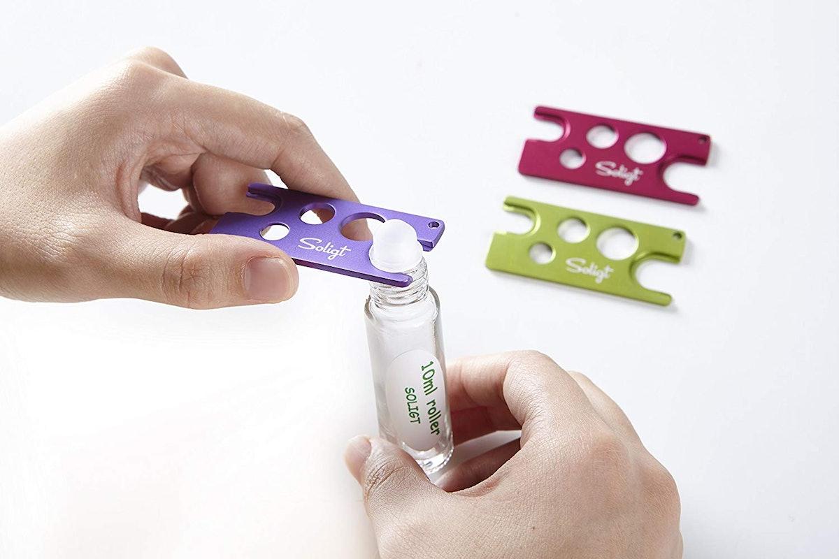 SOLIGT Multi-color Metal Essential Oil Key Tool