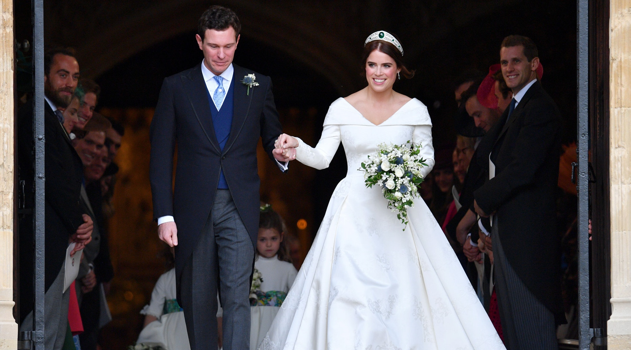 Princess Eugenie S Second Wedding Dress Designer Zac Posen Just