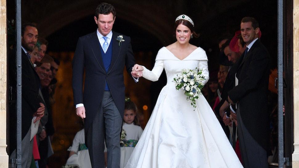 Princess Eugenie S Second Wedding Dress Designer Zac Posen Just