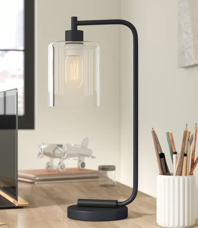 "Keystone Lantern 19"" Desk Lamp"