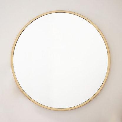 """Metal Framed 48"""" Round Mirror"""