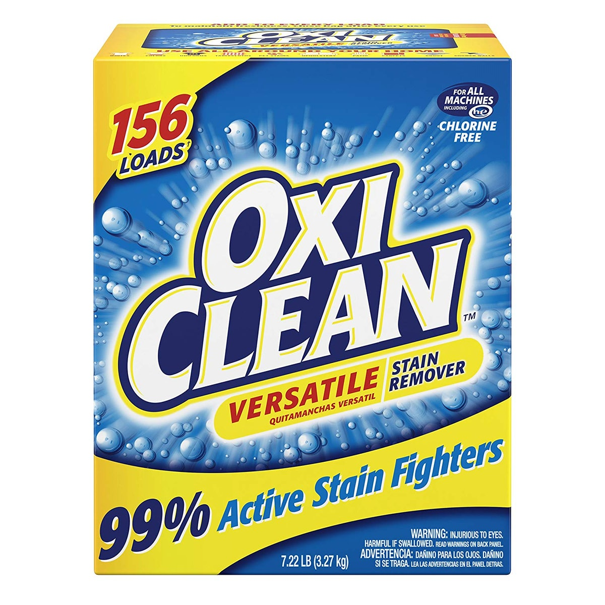 OxiClean Versatile Stain Remover Powder, 7.22 Pounds