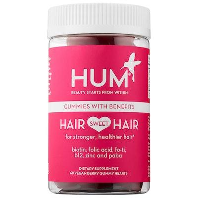 Hair Sweet Hair Vegan Gummies Length & Strength Supplement