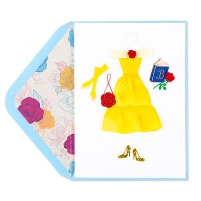 Beautiful Belle Birthday Card