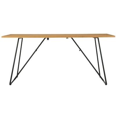 Oak Foldable Table