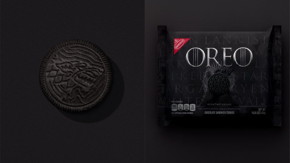 Game Of Thrones Oreos Are Finally On The Way There Are 4 Designs