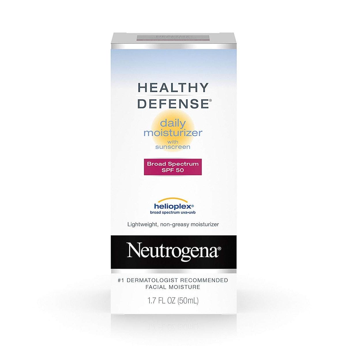 Neutrogena Healthy Defense Daily Moisturizer with Broad Spectrum SPF 50