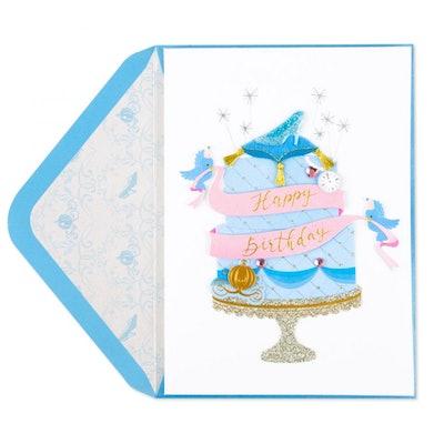 Cinderella's Sweets Birthday Card