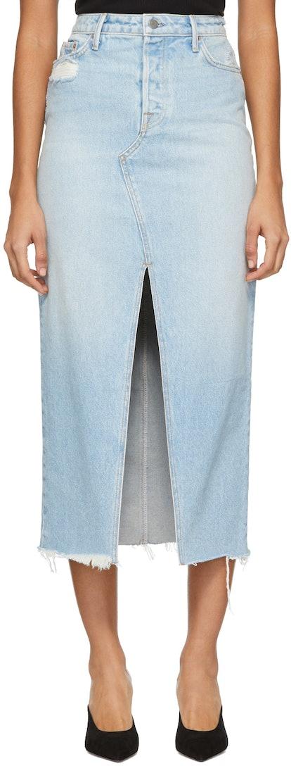 Blue Denim Isla Skirt