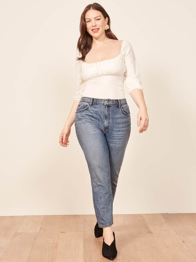 Extended Sizes Julia Crop High