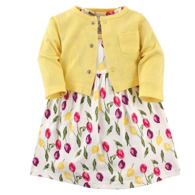 Dress and Cardigan Set