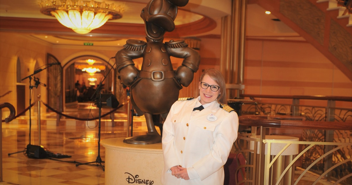Disney's Cruise Director Gets To Sail The World & Share Her Love Of Mickey For A Living