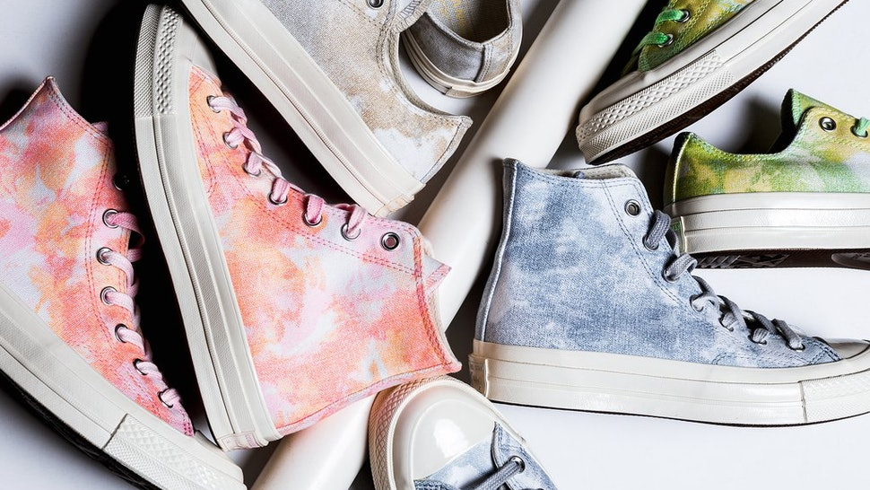 6064984fe73 Converse Is Dropping Tie Dyed All Star Chucks Just In Time For Festival  Season