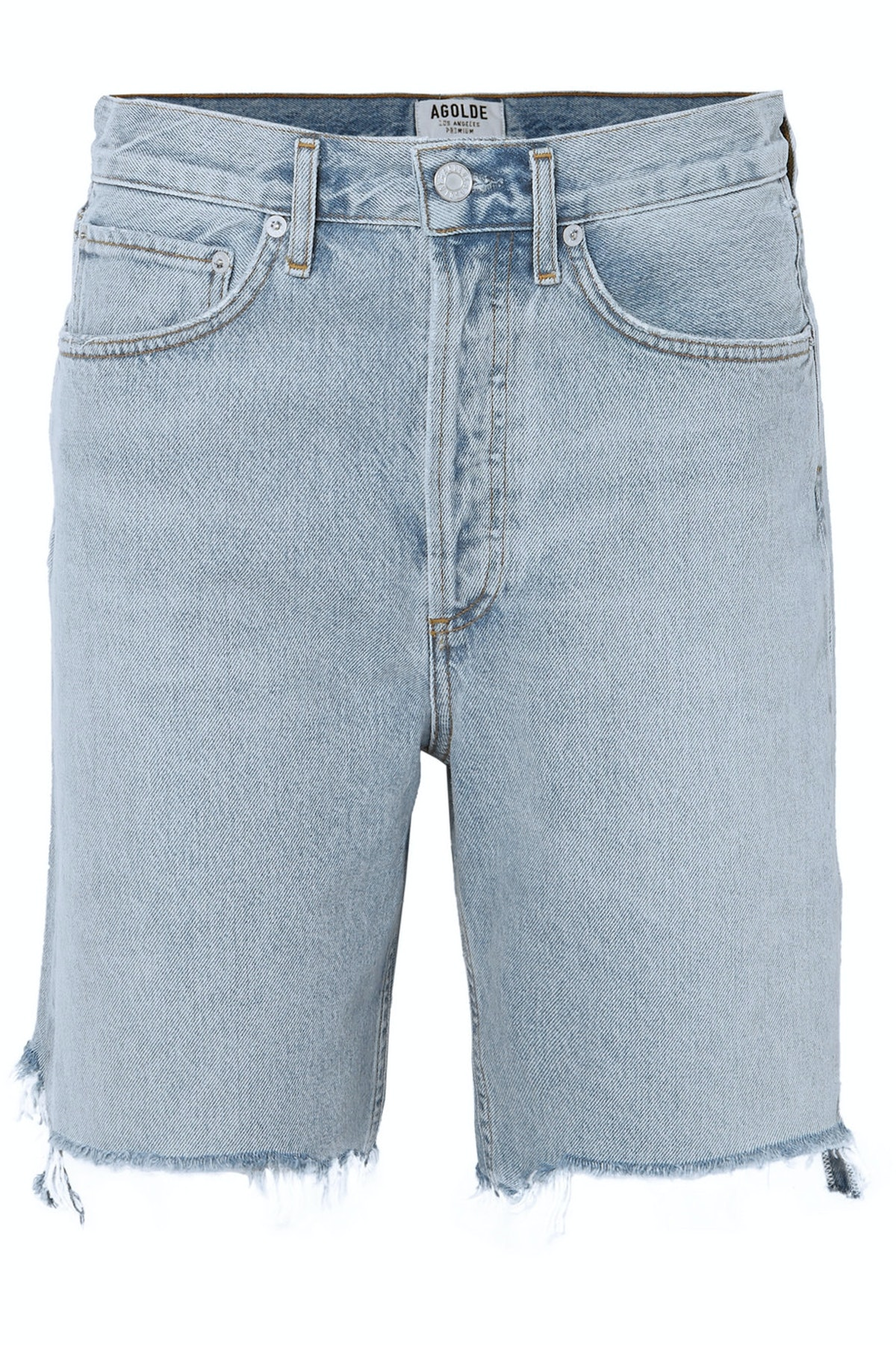 '90s Distressed Denim Shorts