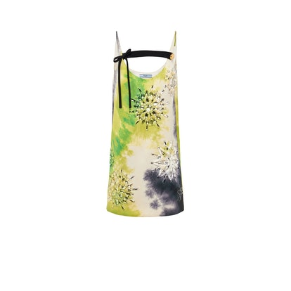 Duchesse Tie-Dye Print Dress