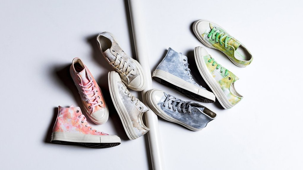 6b7be5fdad18 These Tie-Dye Converse Sneakers Will Put Springtime Into Your Step