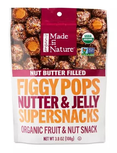 Made in Nature Nutter & Jelly Organic Nut Butter Filled Figgy Pops