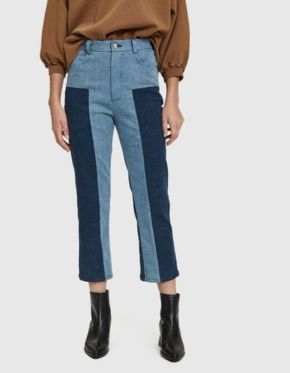 Bismark Two-Tone Denim Trouser