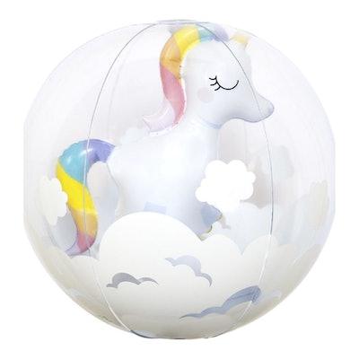 Unicorn 3D Inflatable Beach Ball