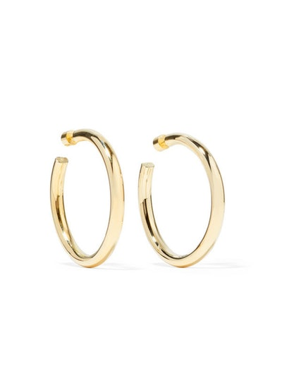 Samira Gold-Plated Hoop Earrings