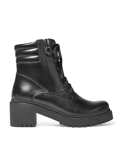 Viviane Leather Ankle Boots