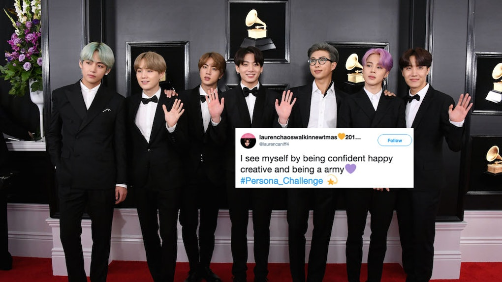 These BTS Persona Challenge Tweets Display Just How Much The