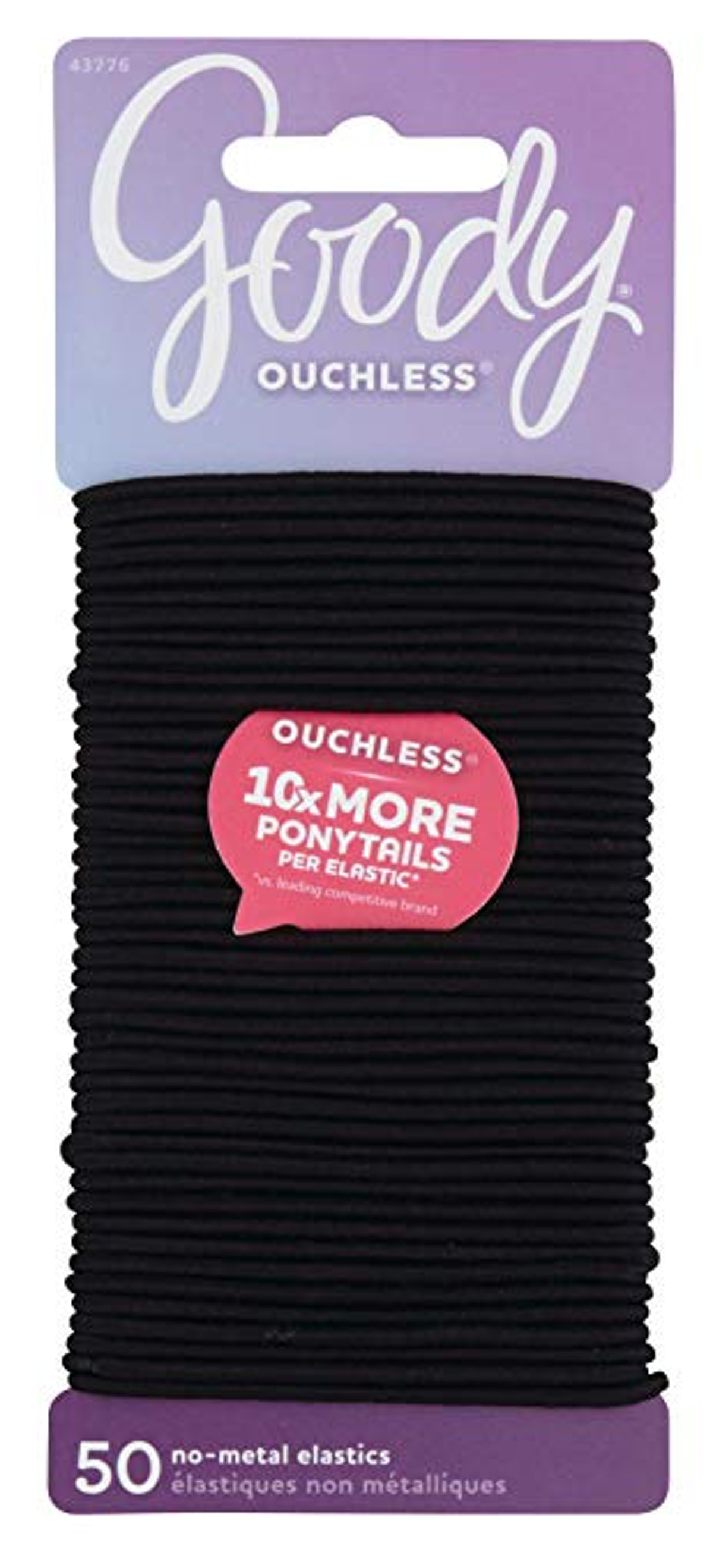 Goody Ouchless No-Metal Elastics