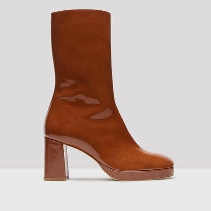 Carlota Spicy Brown Leather Boots