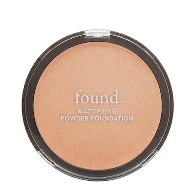 FOUND Mattifying Powder Foundation with Rosemary