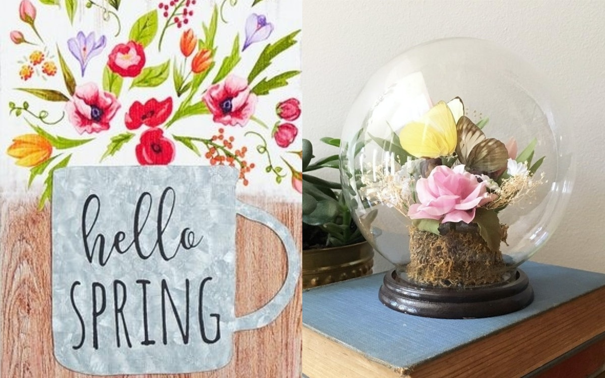 16 Pieces Of Spring Home Decor For Under $25